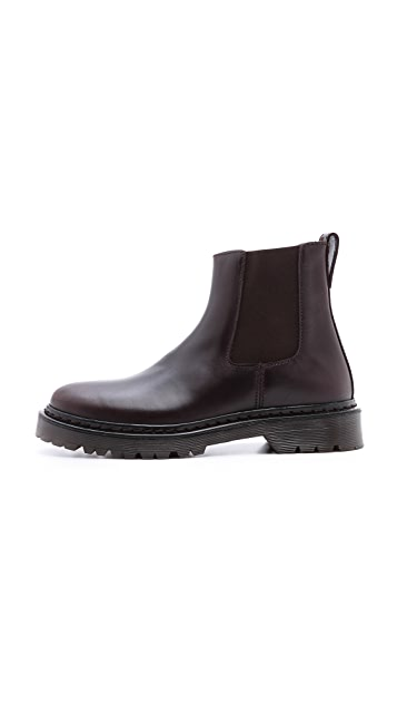 A.P.C. Flat Chelsea Booties