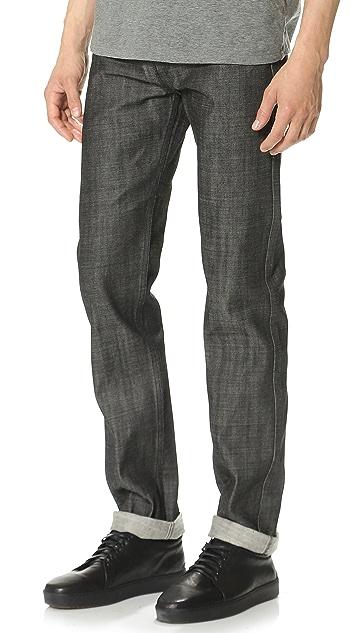 A.P.C. New Standard Black Jeans
