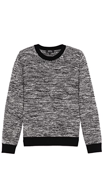A.P.C. Molinee Crew Neck Sweater