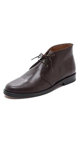 A.P.C. Leather Chukka Boots