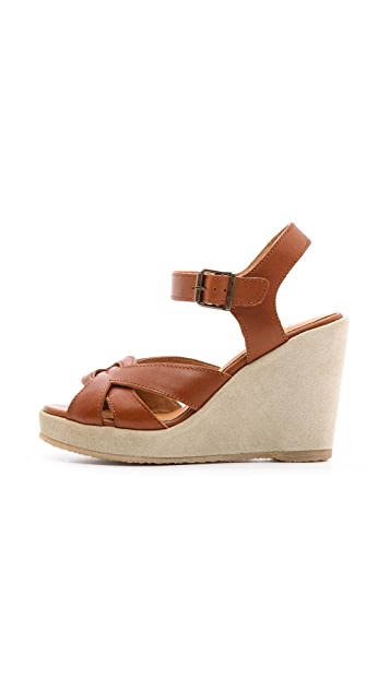 A.P.C. Wedge Sandals