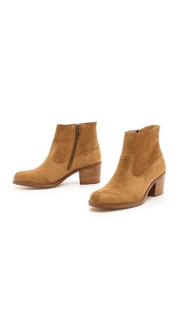 A.P.C. Low Heel Booties
