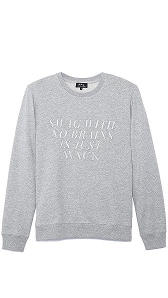 A.P.C. Swag Sweatshirt