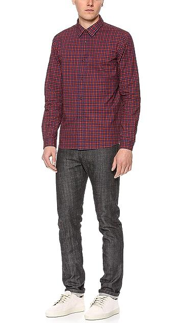 A.P.C. Plaid Mike Shirt