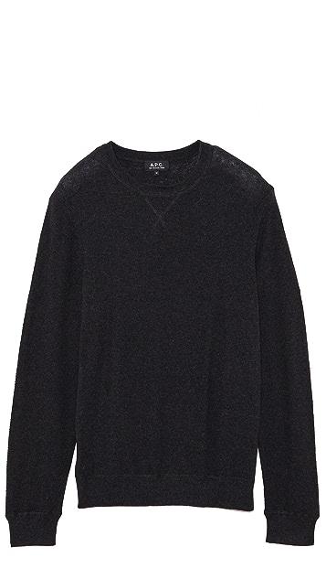 A.P.C. Crew Neck Sweater