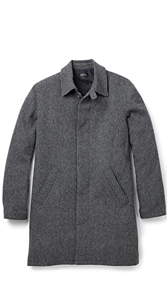 A.P.C. Raglan Mac Coat