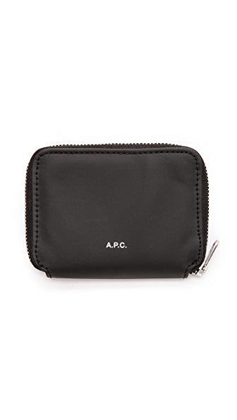 A.P.C. Jules Zip Wallet