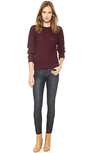 A.P.C. Mariniere Femme Pullover Sweater