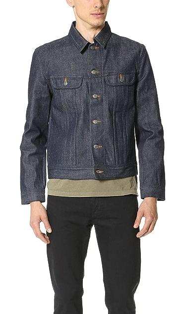 A.P.C. New Raw Denim Jacket