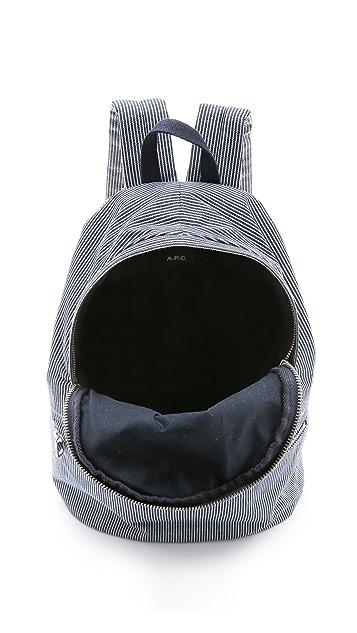 A.P.C. Basic Backpack