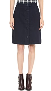 A.P.C. Army Skirt