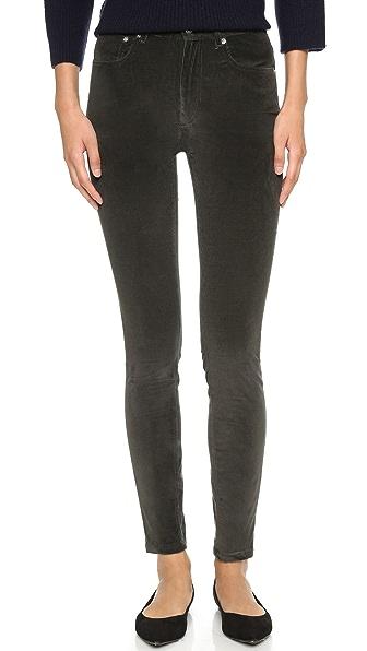 A.P.C. High Standard Corduroy Pants - Grey