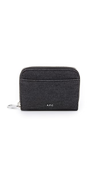 A.P.C. Jared Zip Coin Pouch
