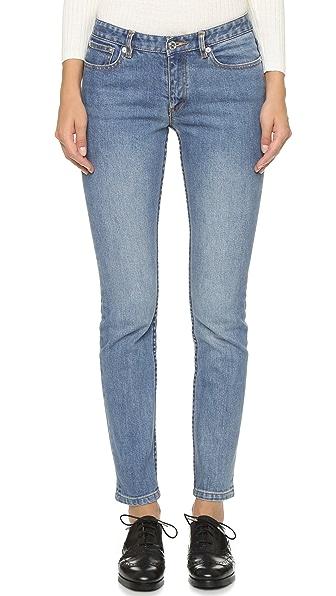 A.P.C. Jean Moulant Jeans - Indigo