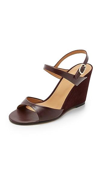 A P C Hagen Wedge Sandals Shopbop