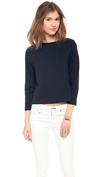 Apiece Apart Cropped Tee