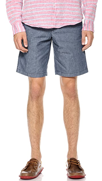 Apolis Chambray Shorts