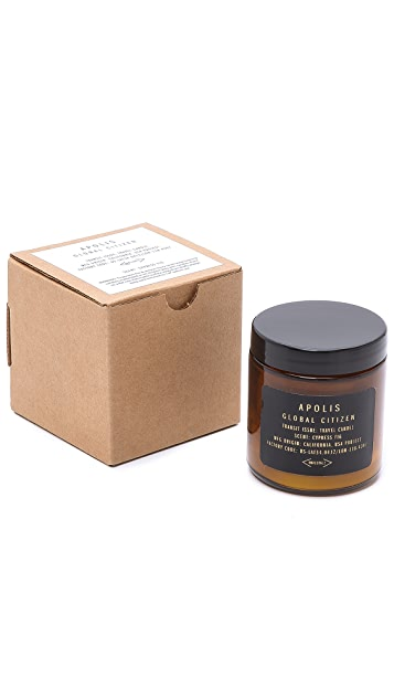 Apolis Cypress Fig Travel Candle
