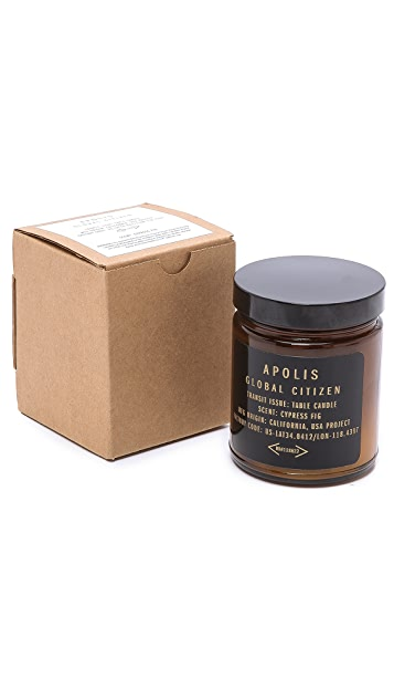 Apolis Cypress Fig Table Candle