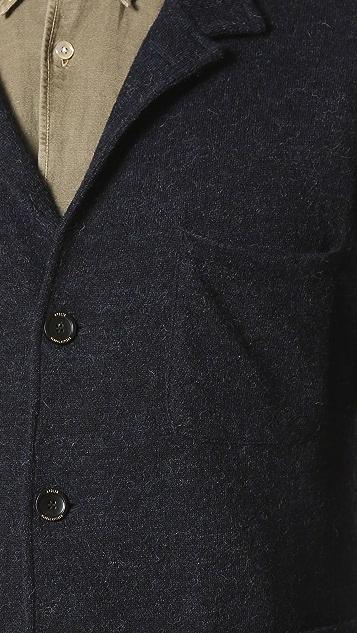 Apolis Boiled Wool Travel Blazer