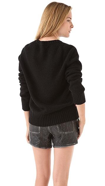 April, May Jay Intarsia Sweater