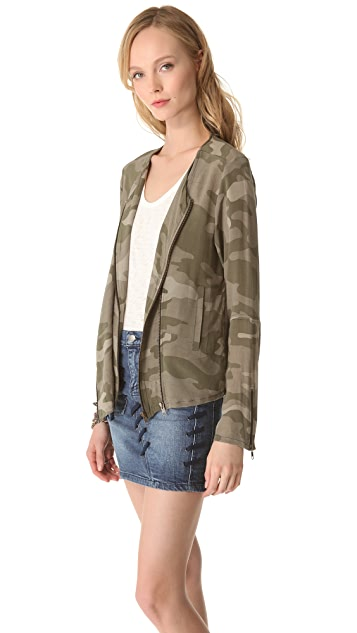April, May Cami Camouflage Jacket