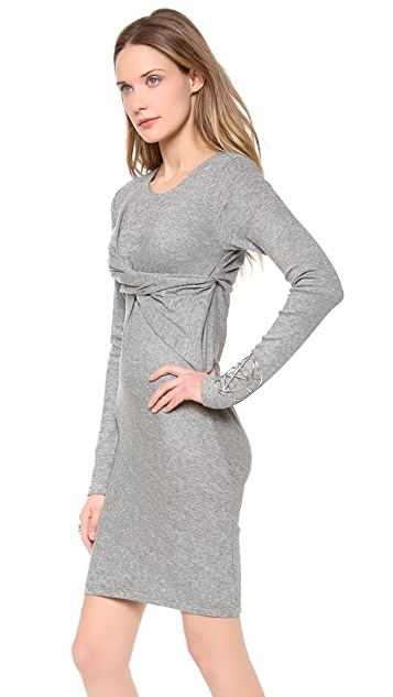 April, May Dayton Drape Dress
