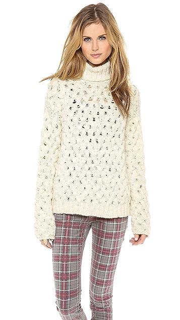 April, May Tate Turtleneck Sweater