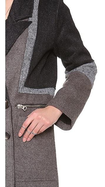 April, May Winter Pea Coat