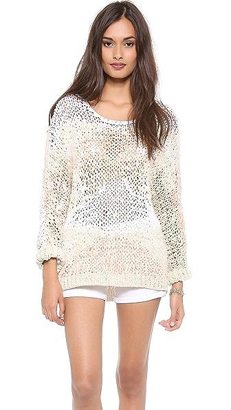 April, May Jujube Oversized Sweater