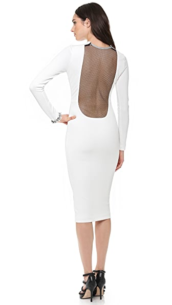 AQ/AQ Boa Knee Length Dress