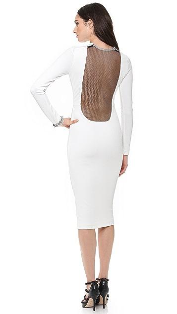 AQ/AQ Boa Knee Length Dress