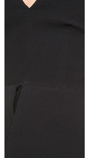 AQ/AQ Scavo Peplum Bodysuit