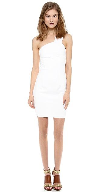 AQ/AQ Felix One Shoulder Mini Dress