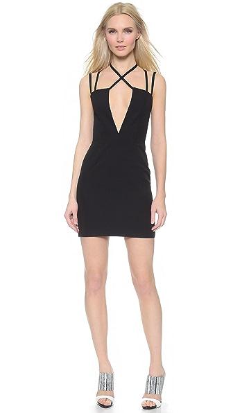 Kupi AQ/AQ online i prodaja Aq/Aq Rocha Mini Dress Black haljinu online