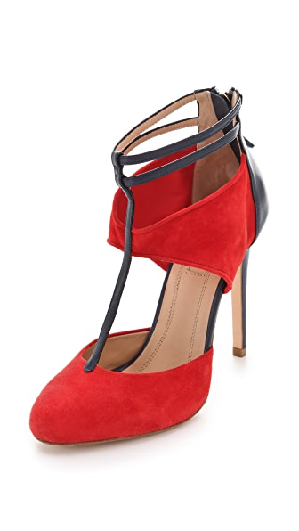 Aquazzura Fiona Cutout Pumps