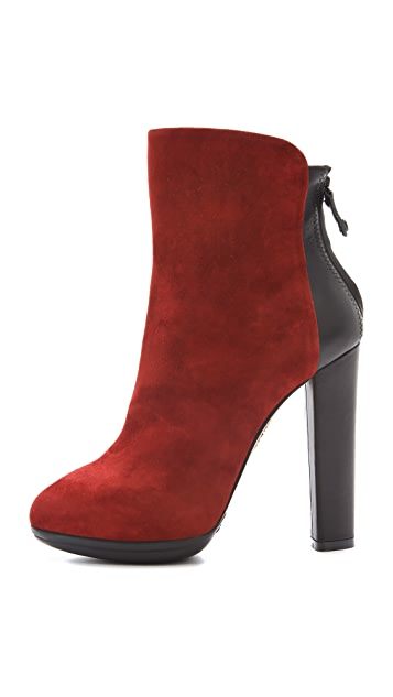Aquazzura Julia Colorblock Booties