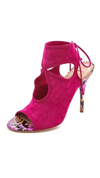 Aquazzura Sexy Thing Suede Booties