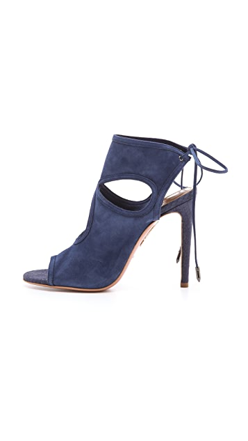 Aquazzura Sexy Thing Cutout Sandals