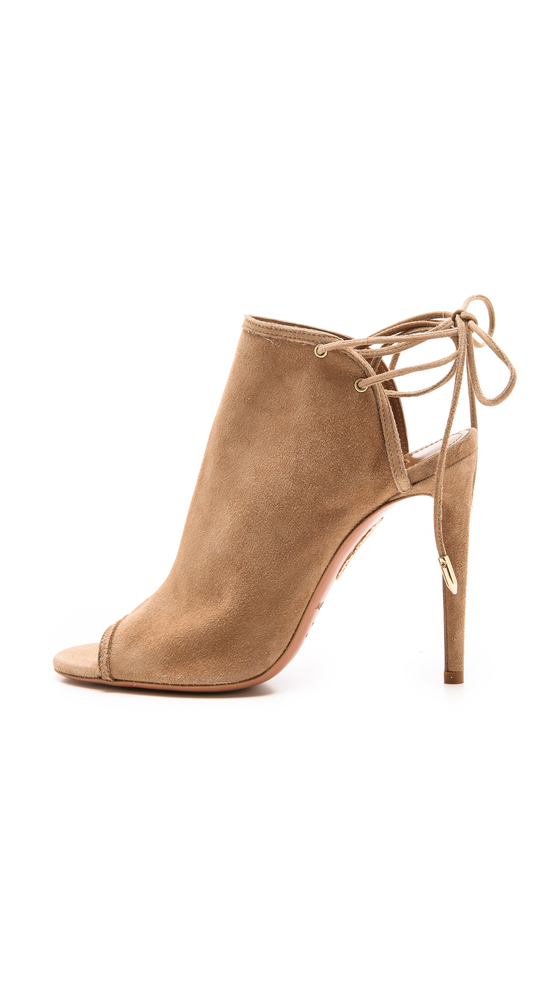Aquazzura Mayfair Peep-Toe Sandals find great cheap online very cheap price cheap sale collections sale discount in China ElLkIV3EtM