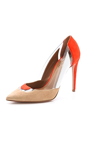 Aquazzura Positano Pumps