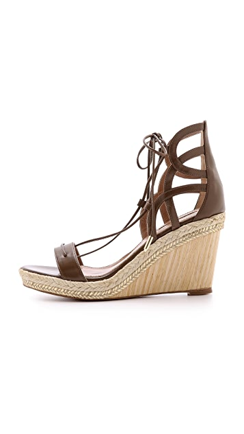 Aquazzura Mirage Wedge Espadrilles