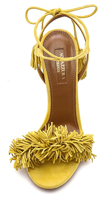 Aquazzura Wild Thing Fringe Sandals