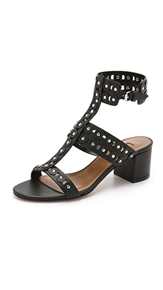 Aquazzura Rebel Studded Sandals