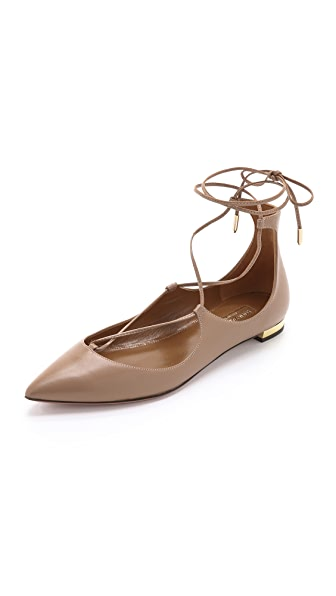 Aquazzura Christy Flats at Shopbop