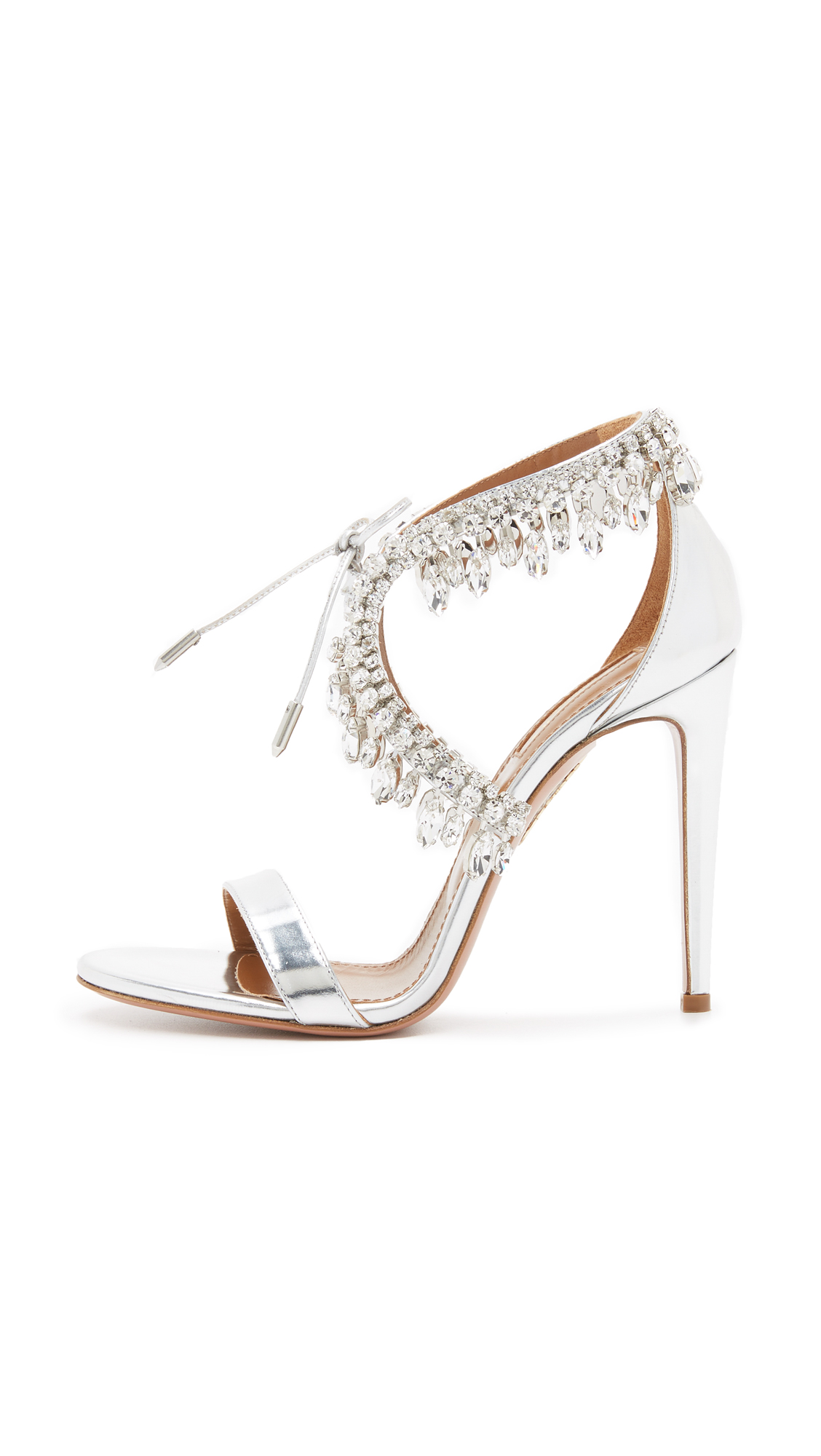 462654552 Aquazzura Milla Jewel Sandals | SHOPBOP