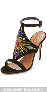 Desert Sun Sandals                Aquazzura
