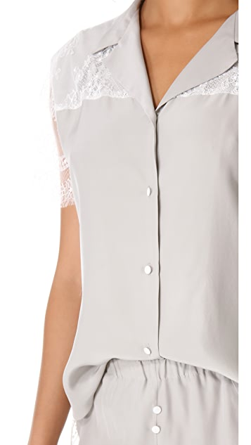 Ari Dein Lace Boutique Hotel Pajama Top