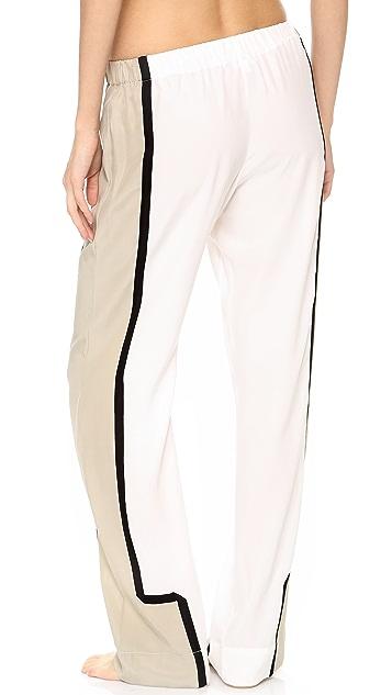 Ari Dein Colorblock Boutique Hotel Pajama Pants