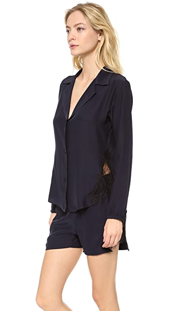 Ari Dein Iris Du Nord Pajama Top
